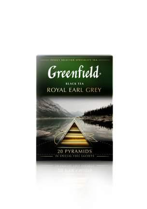Чай черный Greenfield в пирамидках royal earl grey 20 пакетиков