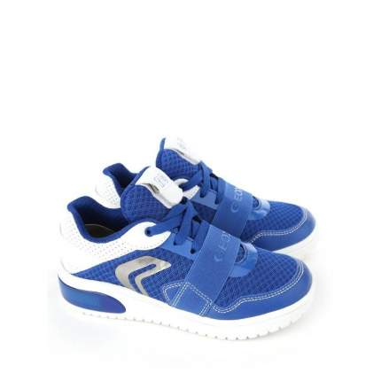 Кроссовки J XLED BOY GEOX, синие, 33 р-р