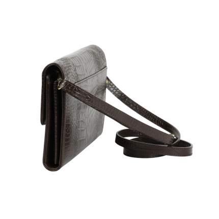 Клатч женский кожаный Bufalo SJ-02 коричневый