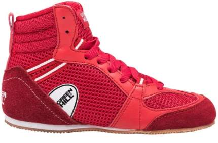 Боксерки Green Hill PS006, красные, 36