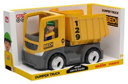 Строительный грузовик-самосвал Efko с водителем 27271EF-CH