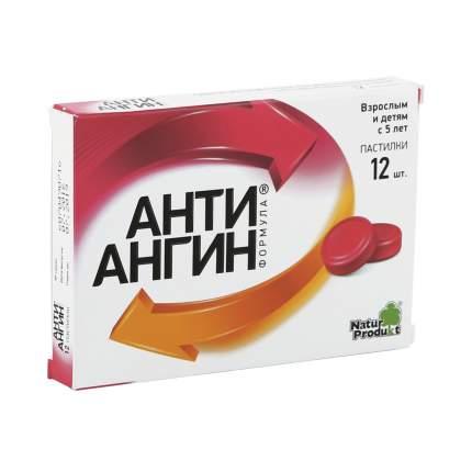 Анти-Ангин Формула пастилки 12 шт.