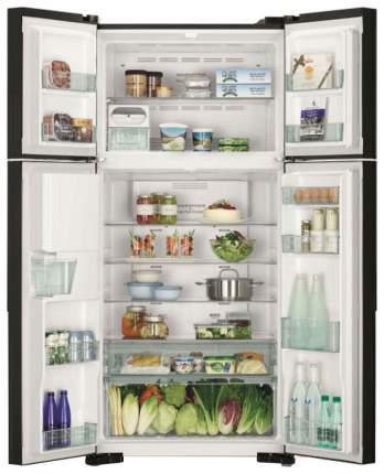 Холодильник Hitachi R-W 662 PU7 GBK Black