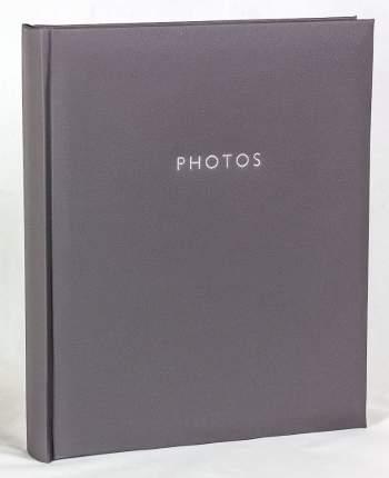 """Фотоальбом однотонный """"Классика"""" обложка из эко-кожи, 50 магнитных страниц 26х32 см"""