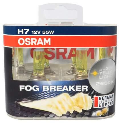 Галогеновая автомобильная лампа OSRAM 62210FBR-DUOBOX 2 шт