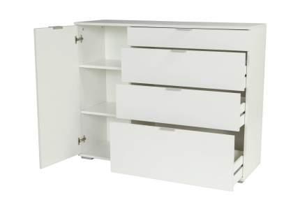 Комод Vental 95х120х38,6 см, белый