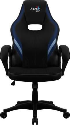 Игровое кресло AeroCool AERO 2 Alpha, черный/синий