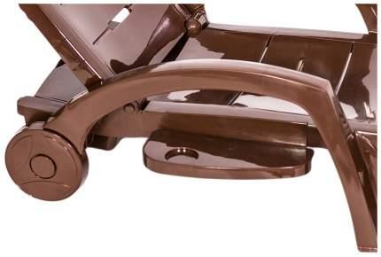 Шезлонг на колесиках Hoff 80261077 Шокоадный