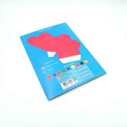 Картон цветной волшебный (А4, 10л, 10цв), ВКЦ1010432