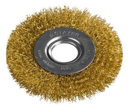 Дисковая кордщетка для угловых шлифмашин Stayer 35122-100