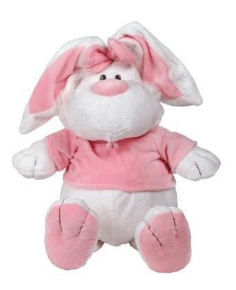 Мягкая игрушка Gulliver Кролик белый сидячий, 56 см