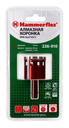Алмазная коронка по керамограниту/стеклу Hammer Flex 226-010 (58973)