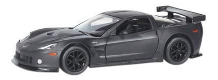 Машина металлическая Uni-Fortune 1:32 Chevrolet Corvette C6.Rинерционная серый матовый