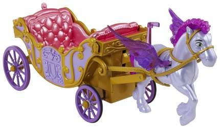 Транспорт для кукол Mattel Летающий конь Минимус и волшебная карета CDB35