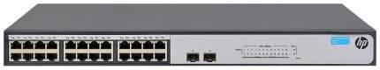 Коммутатор HP 1420-24G-2SFP JH017A Черный