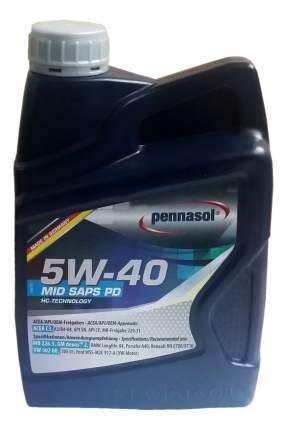Моторное масло Pennasol MID Saps PD SAE 5W-40 1л