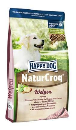 Сухой корм для щенков Happy Dog NatureCroq Welpen, птица, говядина, рыба, 4кг