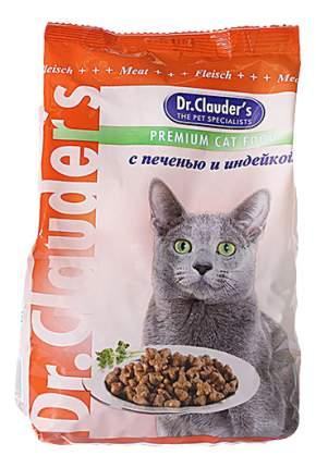Сухой корм для котят Dr.Clauder's, индейка, печень, 15кг