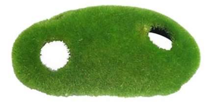 Грот для аквариума МЕЙДЖИНГ АКВАРИУМ Укрытие покрытое мхом, полиэфирная смола, 15х8х9 см