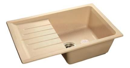 Мойка для кухни мраморная GranFest Practic GF-P760L бежевый