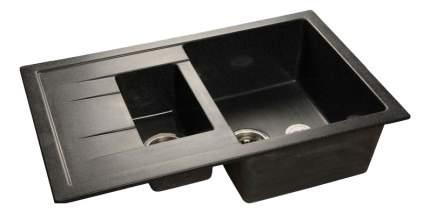 Мойка для кухни мраморная GranFest Quadro GF-Q775KL черный