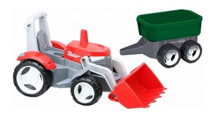 Машинка MultiGo Трактор с прицепом и сменным кузовом