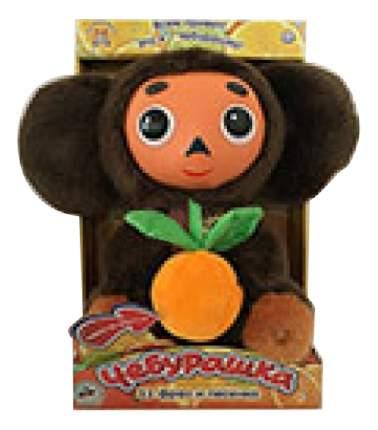 Мягкая игрушка Мульти-Пульти Чебурашка с пластмассовой мордочкой? с апельсином 25 см