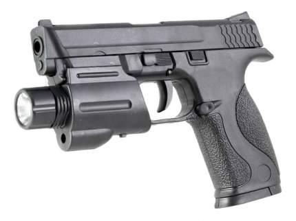 Механический Пистолет с Фонарем Shantou Gepai, 15,5 см
