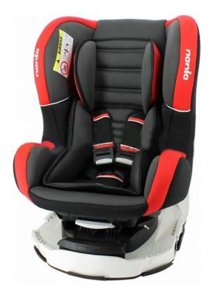 Автокресло Nania Revo Premium группа 0/1, Черный-Красный