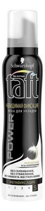 Пена для укладки волос Taft Невидимая фиксация максимально сильной фиксации 150 мл