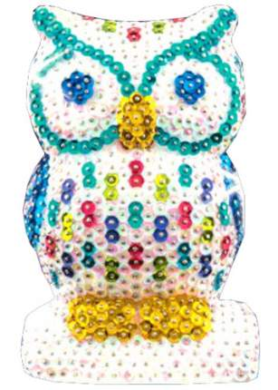 Объемная фигурка с блестками Sequin Art Сова 1409