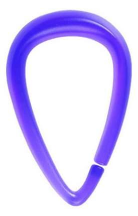 Кольца для штор в ванную Spirella Drop 1014721