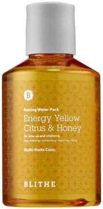 Маска для лица BLITHE Energy Yellow Citrus & Honey 200 мл