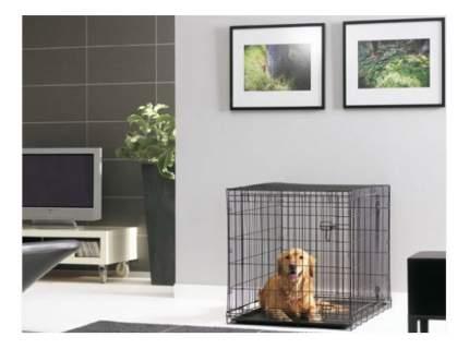 Клетка для собак Savic DOG COTTAGE 107 х 72 х 79 см, Чёрный