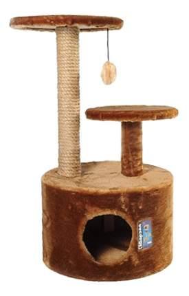 Комплекс для кошек Дарэлл 3-х уровневый круглый 14454СО цвет в ассортименте
