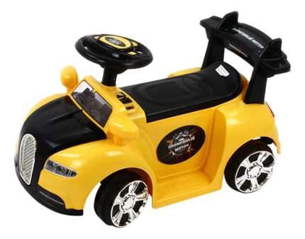 Электромобиль Пламенный мотор Миникар желтый