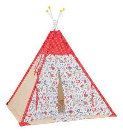 Игровая палатка Polini Кантри, красный