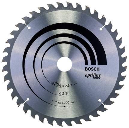Пильный диск по дереву Bosch STD WO 254x30-40T 2608640443