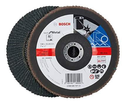 Круг лепестковый Bosch 180мм K40 Best for Metal 2608606737