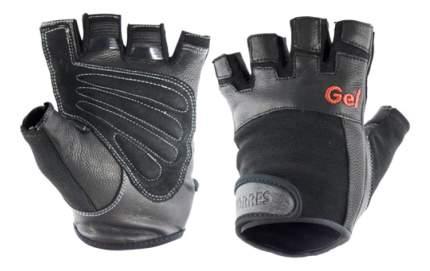 Перчатки для тяжелой атлетики и фитнеса Torres PL6049, черные, S