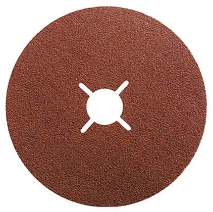 Круг фибровый шлифовальный для шлифовальных машин MATRIX Р 80 115 х 22mm 5шт 73904