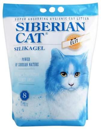 Наполнитель Сибирская кошка Элита силикагелевый 8 л 3.7 кг без запаха