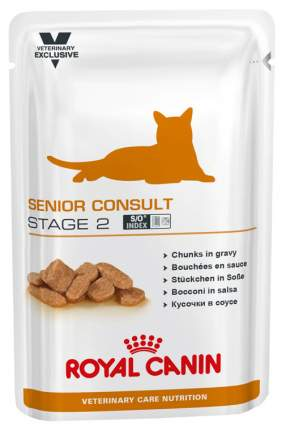 Влажный корм для кошек ROYAL CANIN Senior Consult Stage 2, мясо, 100г