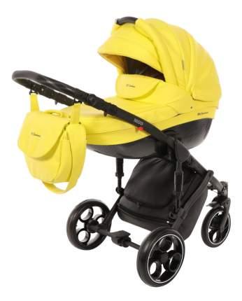 Коляска 2 в 1 Mr Sandman Mod черный, серый, желтый