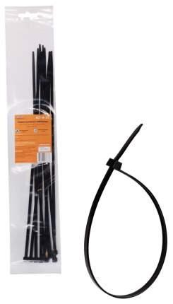 Стяжки (хомуты) AIRLINE кабельные 4,8*350 мм, пластиковые, черные, 10 шт.