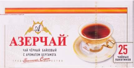 Чай черный Азерчай с ароматом бергамота 25 пакетиков