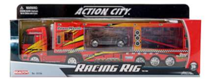Машинка пластиковая RealToy Racing rig Машиновоз