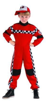 Карнавальный костюм гонщик, 3-6 лет, рост 104-116 см