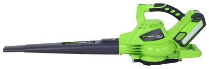 Аккумуляторная воздуходувка Greenworks GD40BV-SET без акб и зу