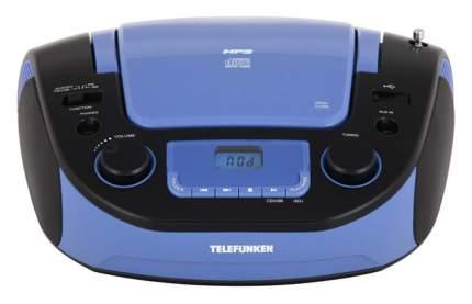 Магнитола TELEFUNKEN TF-CSRP3481 Голубой, черный